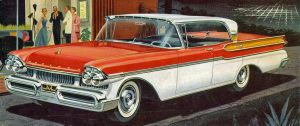 age of chrome and fins : 1957 Mercury by Peterhoff3