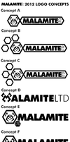 Malamite Ltd 2012 Logo Concepts by NS-Games