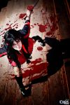 Saya Kisaragi cosplay Blood-C by LadyOfBarians