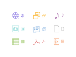 Icon Set by sicfess