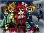 4 Chibi Shinigami In Heaven by Isi-Daddy