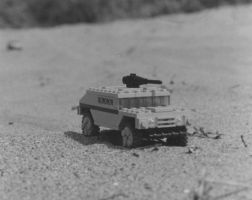 Lego Humvee Photo by Mike-the-Reaper