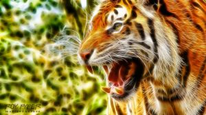 True King of the Jungle: Fractalius Re-Edit by nerdboy69