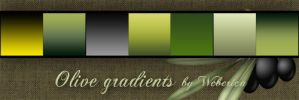 olive green ps gradients by weberica