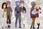 Naruto Couples Adopt (OPEN) One more left by DessyDream