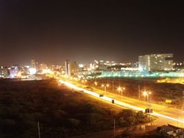 Porlamar_by_night_by_bhgeorge by venezuela
