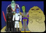 Star Wars Baddies by Lordwormm