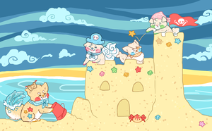 Do You Want to Build a Sandcastle? by Sharkysaur