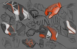 glove sketches by jakejake10