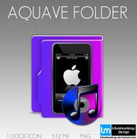Aquave itunes-ipod-music icon by tRiBaLmArKiNgS