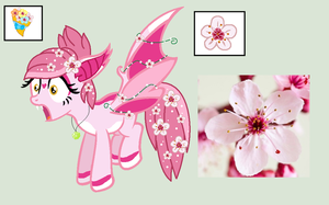 Cherry Blossom Batpony Point Auction CLOSED by Arxielle