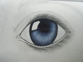Colored Eye Practice by swan107