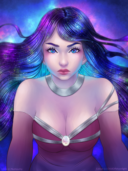 Galaxy (Contest Entry) by ChildOfMoonlight