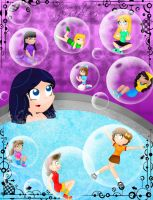 In soap bubbles by maahvictal