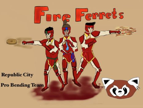 INTRODUCING FUTURE INDUSTRY'S FIRE FERRETS by The-Ninja-Rabbit