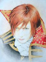 Gackt draw by deadly-toshiya