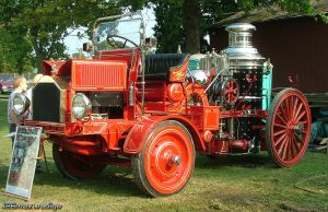 1912 Christie Fire Truck by 426maxwedgie