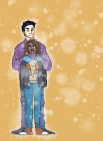 Frank and Hazel (Gift) by WillowLightfoot