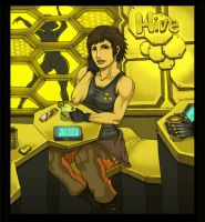 DE3:HR-Faridah in the Hive by Hunter-Wolf