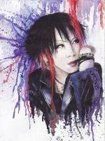 Ruki from The GazettE by Himawari-chaan