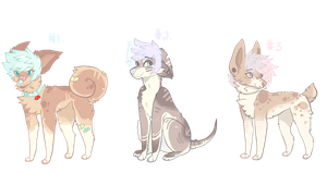 [CLOSED] Pastel Pupper Adopts -set price- by Sno-berry