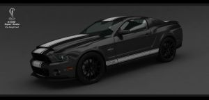 Mustang Shelby GT500 Super Snake 2013-pic1 by Siegfried-Ukr