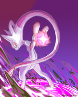 Smogon POTW: Mewtwo Y by BrightObject