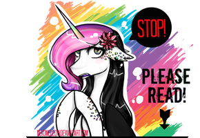 Stop! Please Read! Banner by NekoMellow