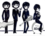 The Beatles by TheHeroPhase