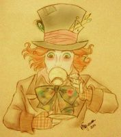 The Mad hatter.. by HigSousa