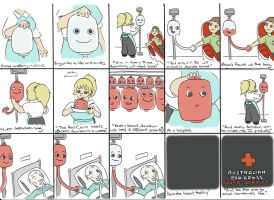Third Blood Donation Ad Storyboard by cartoonist19