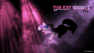 Twilight Sparkle can party Wallpaper by nsaiuvqart