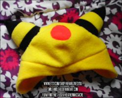 Ampharos Hat by SmileAndLead