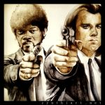 jules winnfield and vincent vega - pulp fiction by cymue