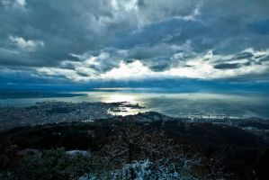 Triest after the blizzard by Koljan