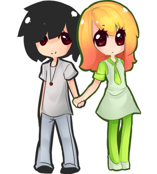 Couple by dollieguts