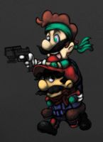 Mario Warfare by CKOanime