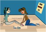 ''_Courtney and Gwen_i help you_by_CourtG'' by CourtG