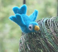 felt twitter bird by basia-hs