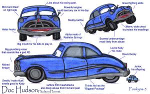 Doc Hudson pooky profile by pookyhorse