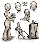 Golem Girl by ursulav