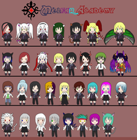 Melfar Academy: Plushie Collection by Samusagi