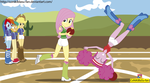 Buckball Season - Equestria Girls by CoNiKiBlaSu-fan