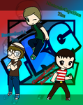 The Runaway Guys - Chibified! by BloodCoveredTears