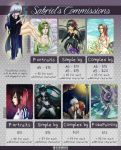 Commission Info 2015 by SabrieI