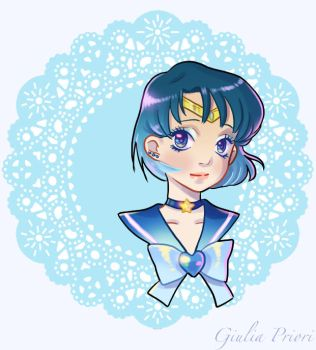 Sailor Moon - Ami by xxxKei87xxx