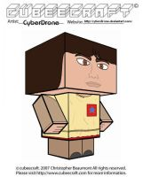 Cubeecraft - Adric by CyberDrone