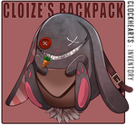Clockhearts: Cloize's Backpack by MyOneHen