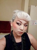 Make Up: Casual Goth Pin Up by soullessYUMEIRU