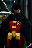 Robin (Young justice) by rinokumur